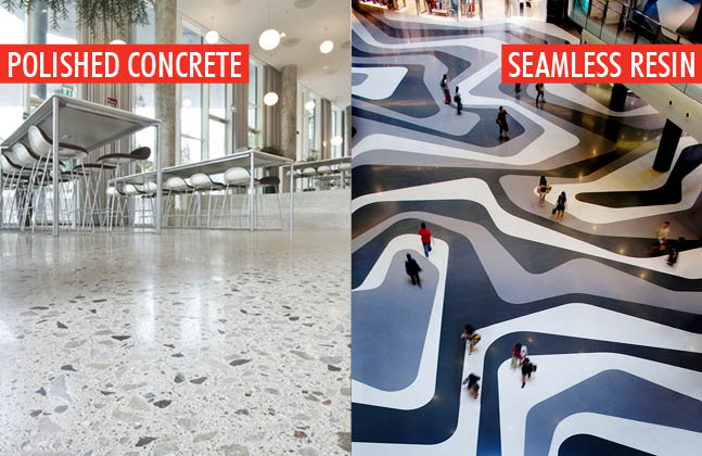 Polished Concrete Vs Resin Floors All Things Flooring