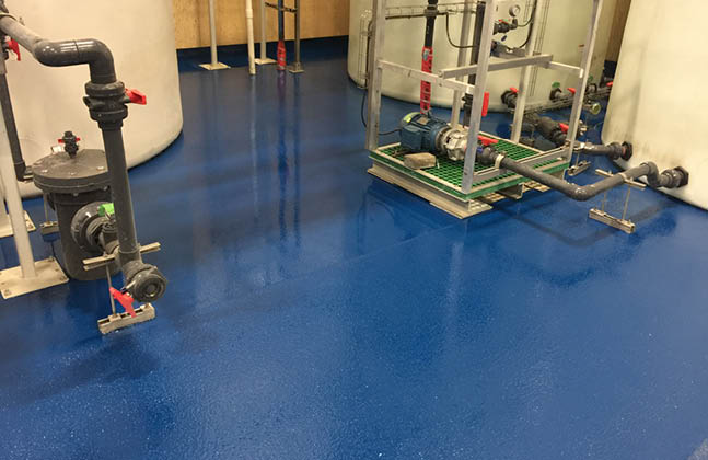 Epoxy Novolac Floor Coatings