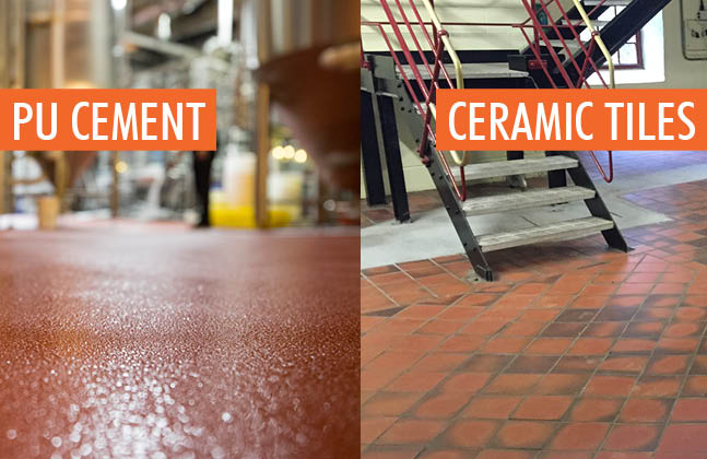 Pu Cement Vs Tiles All Things Flooring