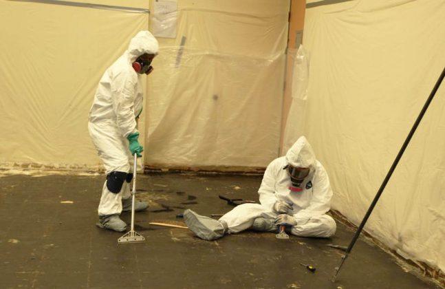 Asbestos Safety Advice for Flooring Contractors