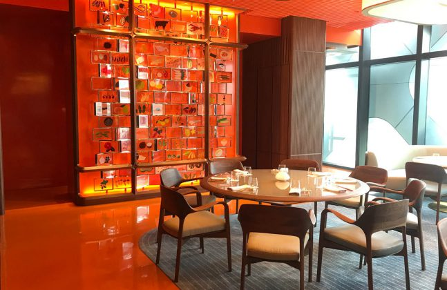 New Alain Ducasse Restaurant Creates a Bold First Impression