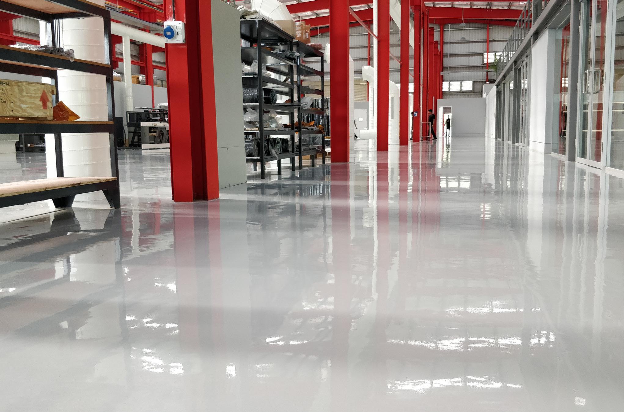 Stop the Press! Choose Suitable Flooring Materials for Your Printing Plant